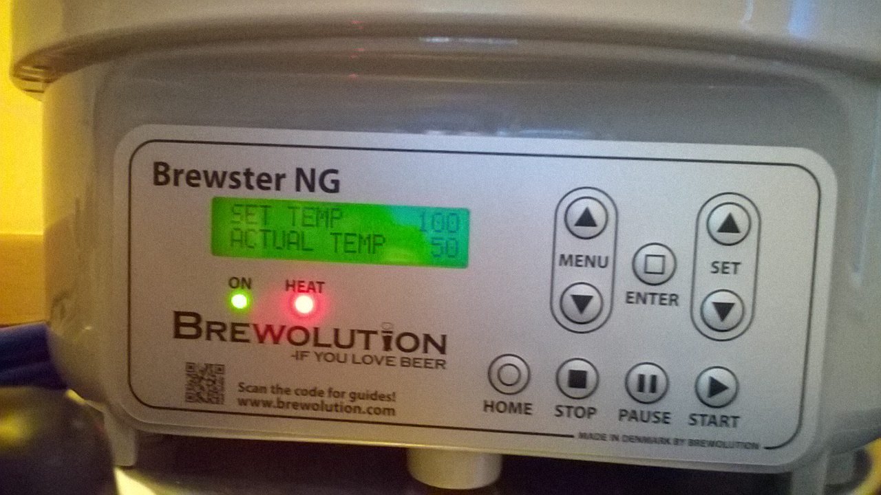 Brewolution home brewery pictures.